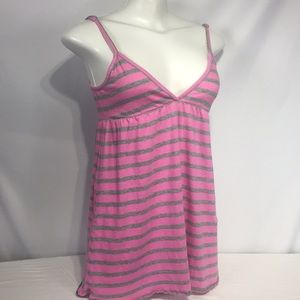 Pink Victoria's Secret babydoll pink and gray